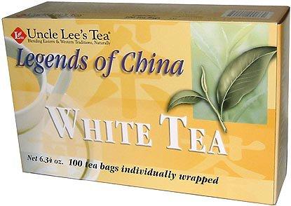 UNCLE LEE'S TEA - Legends of China White Tea - 100 Tea Bags 5.64 oz