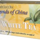 UNCLE LEE'S TEA - Legends of China White Tea - 100 Tea Bags 5.64 oz