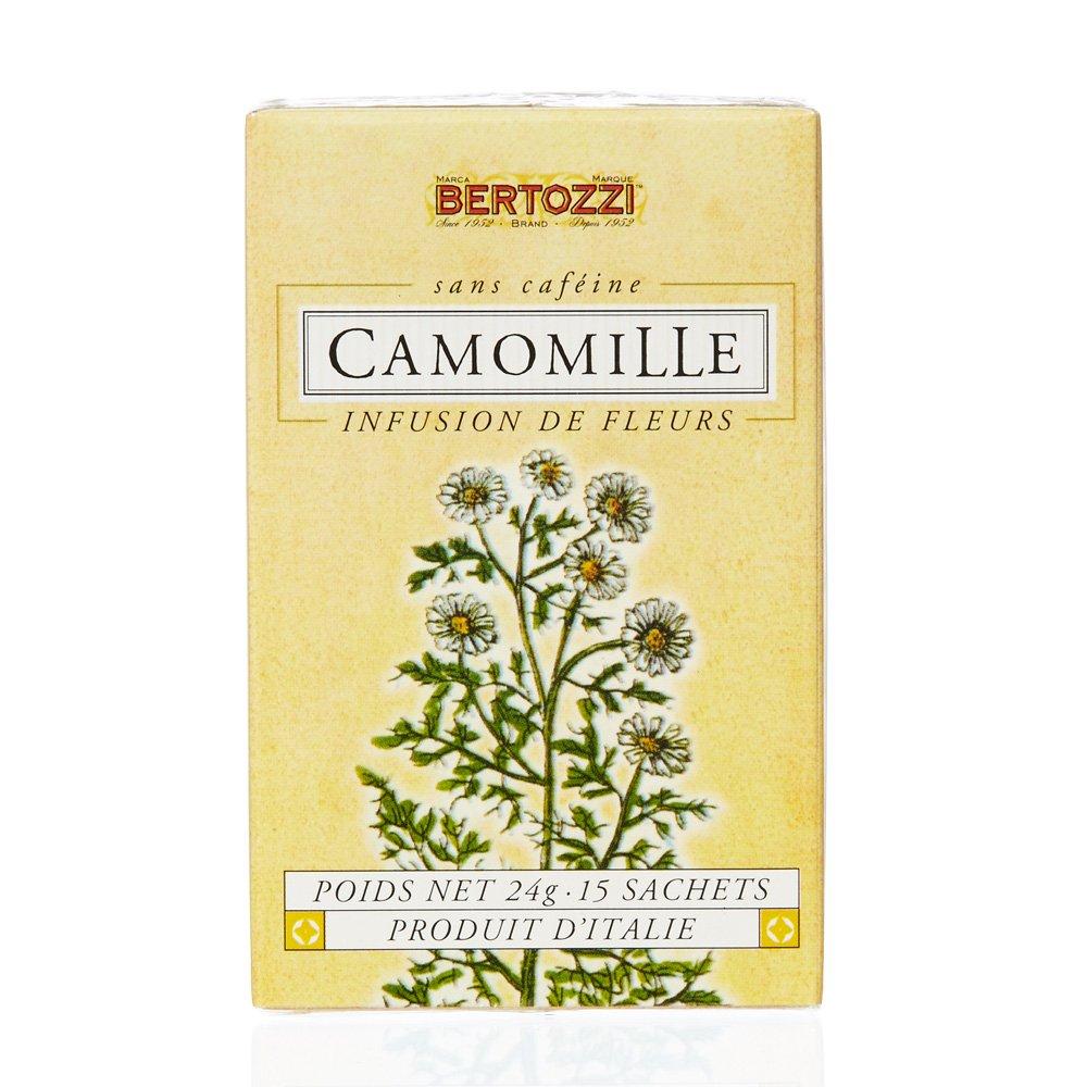 Bertozzi Chamomile Camomile tea 15 tea bags Herbal tea from Italy 24g