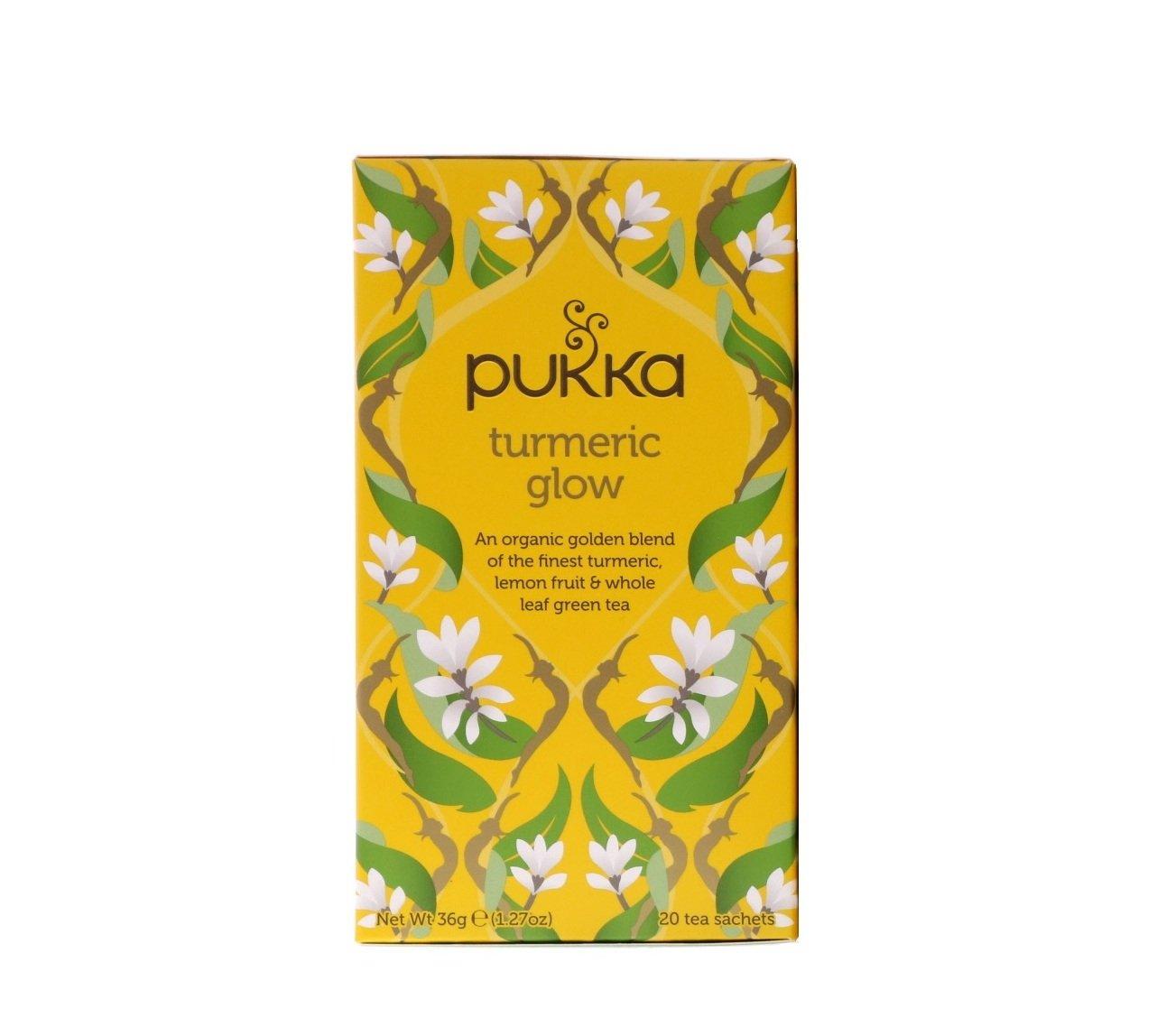 PUKKA Organic Turmeric Gold herbal tea 20 un