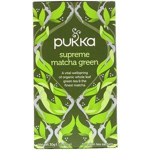 Pukka Supreme Matcha Green, 20 Green Tea Sachets, 1.05 oz (30 g) ON SALE