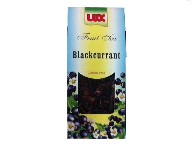 LUX Brand Herbal Tea Blackcurrant Fruit Tea 2.8 oz Caffeine Free