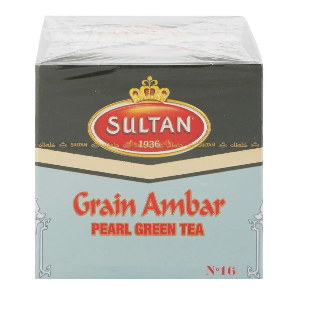 Sultan Grain Ambar Pearl Green Tea - 200 g Intensity 6