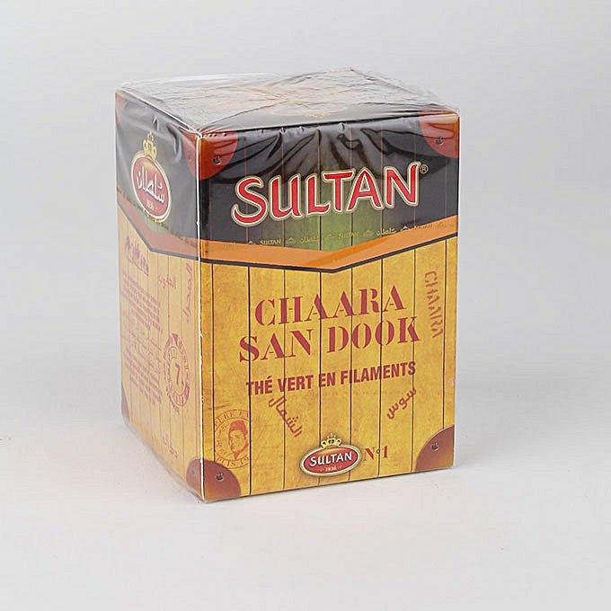 Sultan Chaara San Dook Green Tea in filaments 200g