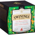 Twinings of London Exotic Mango and Ginger Green Tea 15 Pyramid Bags (37.5g) - FEW UNITS LEFT