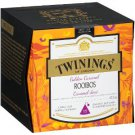 TWININGS OF LONDON Golden Caramel Rooibos Tea 15 Pyramid Bags (37.5g) Discover this blend FINAL SALE