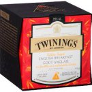 Discover Twinings Golden Tipped English Breakfast 15 Pyramid Bags (37.5g) Exclusive Blend