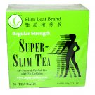 Slim Leaf Brand Super Slim Tea Weight Loss Dieters tea 30 tea bags 2.11 oz