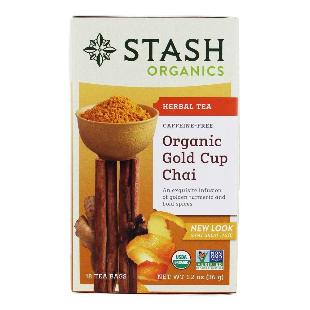 Stash Organic Gold Cup Herbal Tea 18 un