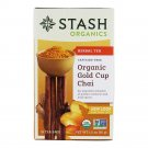 Stash Organic Gold Cup Herbal Tea 18 un