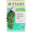 Stash Organics Cascade Mint Herbal Tea 18 un