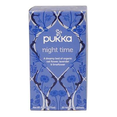 PUKKA Organic Night Time Herbal Tea 20 un