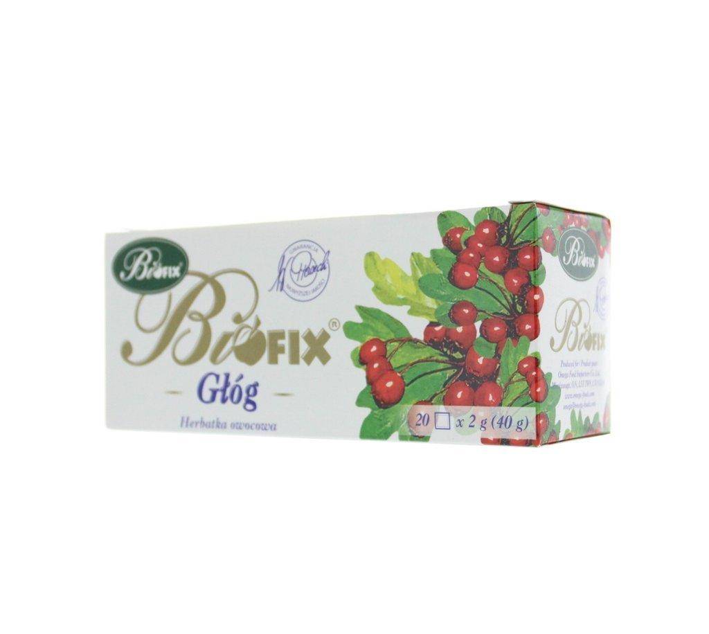 BIFIX Bi Fix Tea Hawthorn Berry Fruit Tea Aubepine Herbal Tea