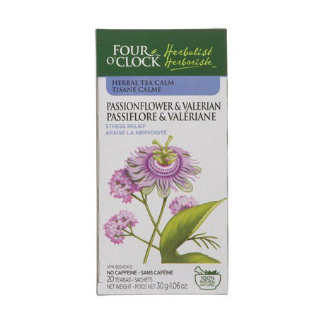 Four O'Clock Passionflower and Valerian Herbal Tea