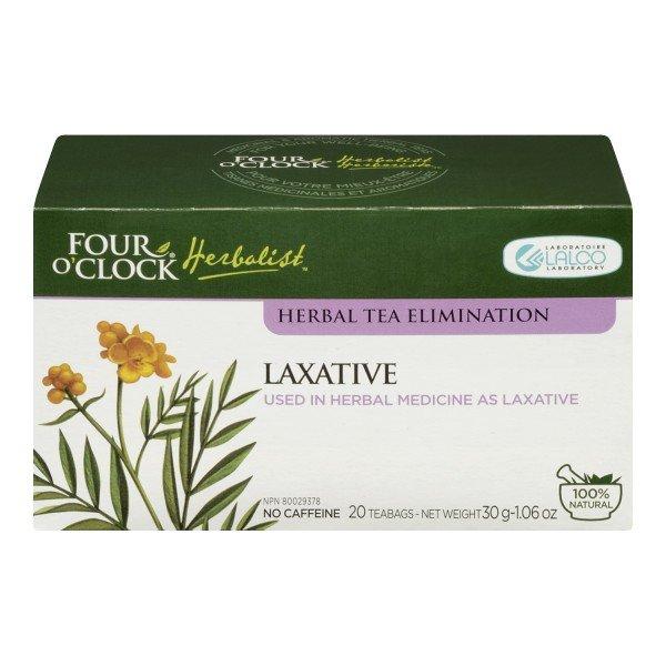 Four O'Clock Herboriste Laxative Tea Herbal Tea for Constipation