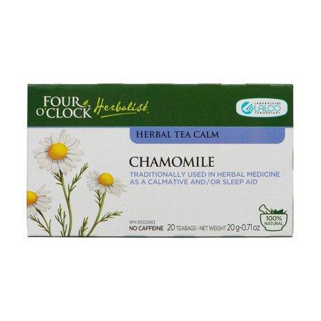 Four O'Clock Herboriste Chamomile Camomile Herbal Tea