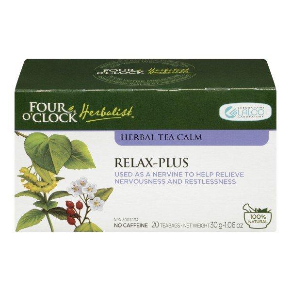 Four O'Clock Herboriste Relax Plus Herbal Tea