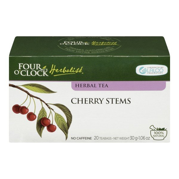 Four O'Clock Herboriste Cherry Stems Herbal Tea