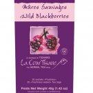 La CourTisane Herbal Tea Wild Blackberries 20 tea bags