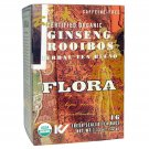 Flora, Herbal Tea Blend, Ginseng Rooibos, 16 Tea Bags, 1.13 oz (32 g)