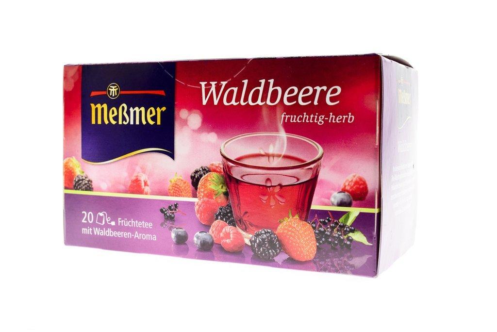 Me�mer Messmer Waldbeere Wild Berries Herbal Tea 20 tea bags