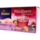 Meßmer Messmer Waldbeere Wild Berries Herbal Tea 20 tea bags