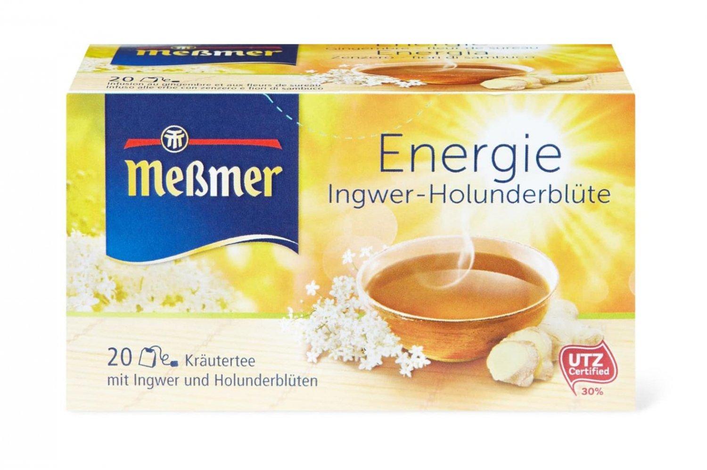 Messmer Energy Herbal Tea 20 tea bags