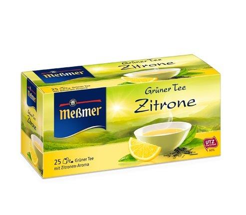 Messmer Green Tea - Lemon Herbal Tea 25 tea bags