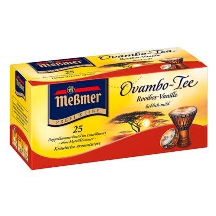 Messmer Ovambo Rooibos - Vanilla Herbal Tea 25 tea bags