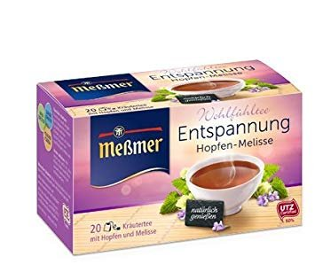 Messmer Relaxation Herbal Tea 20 tea bags