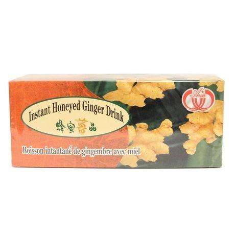 Ginger Ann Instant Honeyed Ginger Drink � 20 TEA BAGS New Format