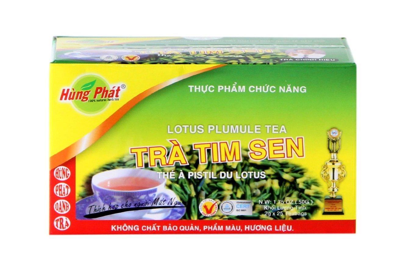 HUNG PHAT LOTUS PLUMULE TEA TRA TIM SEN Herbal Tea