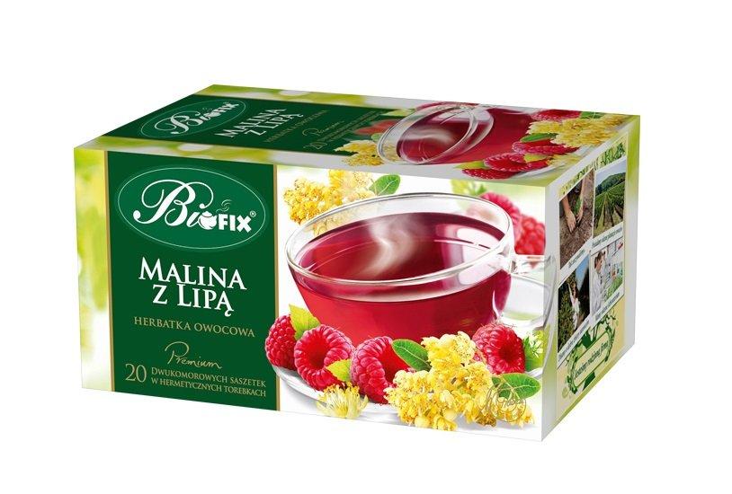 BIFIX Bi Fix Raspberry with lime fruit Premium Tea
