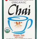 Uncle Lee's Tea Organic Chai Green Tea with Lemon