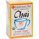 Uncle Lee's Tea Organic Chai Orange Ginger Tea