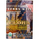 Flora, Herbal Tea Blend, Certified Organic Yerba Mate, Energizing Tea, 16 Tea Bags (28.8 g)