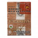 Flora, Herbal Tea Blend, Certified Organic Rooibos Rejuvenating, 16 Tea Bags (38.4 g)