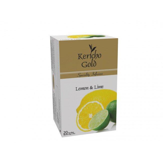 Kericho Gold, Lemon & Lime, Herbal Tea,  20 tea bags