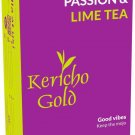 NEW Passion & Lime Tea, Herbal Tea, Good Vibes, Keep the mojo, 25 tea bags Kericho Gold