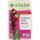 Stash Organics, Organic Very Berry, Herbal Tea 18 un, 1.2 oz (36 g)