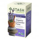 Stash Organic Lavender Tulsi Herbal Tea 18un