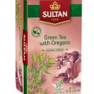 Sultan 1936 Green Tea with Oregano Bags 20 Count