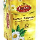 Sultan 1936 Moment of relaxation, Camomile and Anise, Well Being Collection, Bags 20 Count
