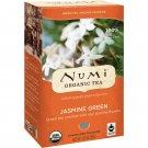 Numi Tea, Organic Tea, Green Tea, Jasmine Green, 18 Tea Bags, 1.27 oz 36 g