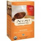 Numi Tea, Organic Tea, Herbal Tisane, Rooibos, Caffeine Free, 18 Tea Bags, 1.52 oz 43.2 g