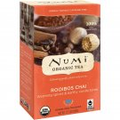 Numi Tea, Organic Tea, Rooibos Chai, Caffeine Free, 18 Tea Bags, 1.71 oz 48.6 g