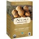 Numi Tea, Organic Tea, Dry Desert Lime, Caffeine Free, 18 Tea Bags, 1.4 oz 39.6 g