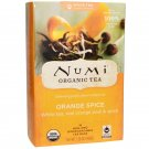 Numi Tea, Organic Tea, Orange Spice, 16 Tea Bags, 1.58 oz FEW LEFT