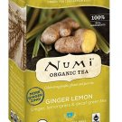 Numi Tea, Organic Tea, Ginger Lemon, 16 Tea Bags, 1.13 oz 32g FEW LEFT
