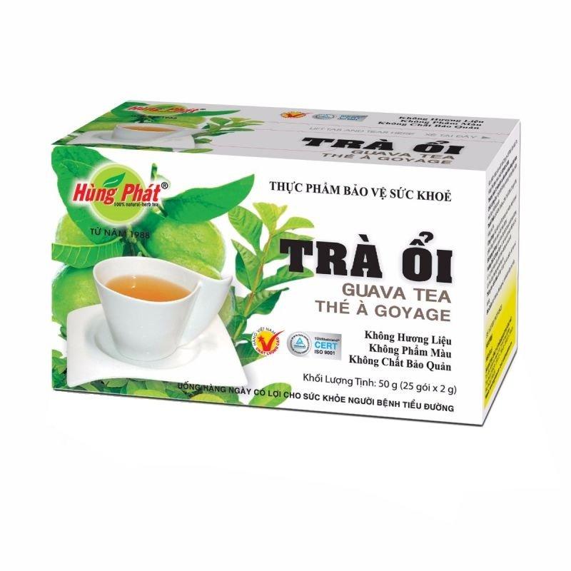 HUNG PHAT Guava Goyabe Herbal Tea 25 tea bags